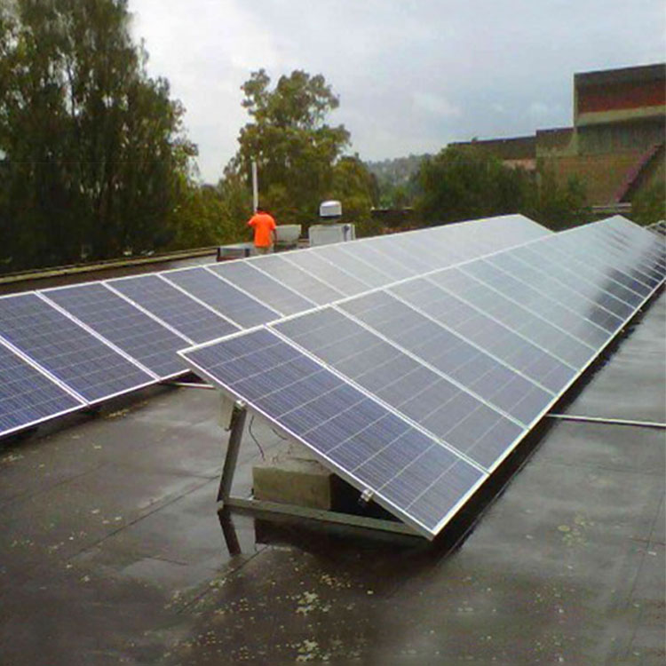 solar adjustable roof mounting system